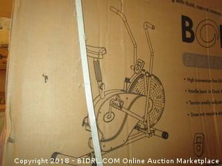 Body Rider Exercise Upright Fan Bike (with UPDATED Softer Seat) Stationary Fitness / Adjustable Seat (Retail $122.00)