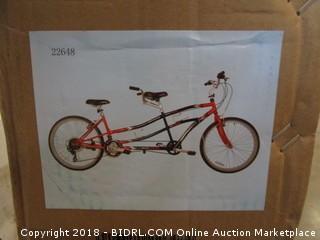 Kent Northwoods Dual Drive Tandem Bike (Retail $399.00)