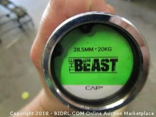 "2"" Black Bar 86""  the Beast"