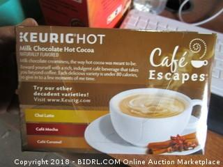 Keurig Hot Cafe Escape 7/18