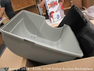 Self Cleaning Litter Box and Airtight Container