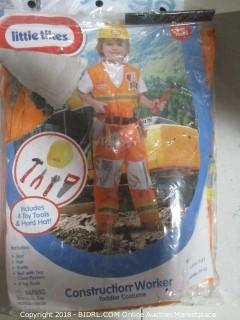 Little Tikes Construction Worker Costume