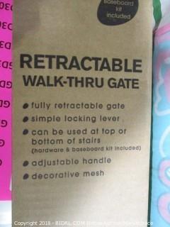 Retractable Walk-Thru Gate