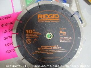 RIDGID Diamond Blade