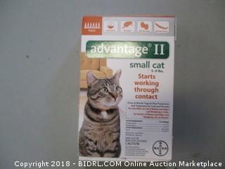 Advantage II Small Cat