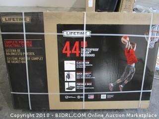 "Lifetime 44"" Shatterproof  Fusion Backboard  Box Is Sealed"