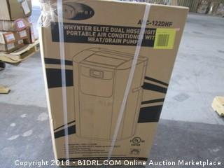 Whynter Elite Dual Hose Digital Portable Air Conditioner with Heat/Drain Pump Box Is Sealed