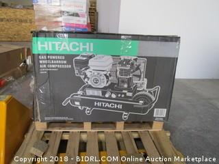 Hitachi Gas Powered Wheelbarrow Air Compressor