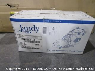 Jandy Pump Box is Sealed