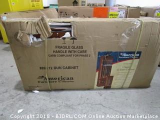 American Furniture Classics 12 Gun Cabinet