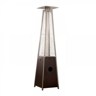 AZ Patio Heaters Patio Heater, Quartz Glass Tube in Hammered Bronze (Retail $209.00)