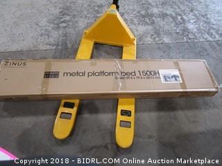 Zinus Metal Platform Bed 1500h