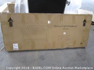 Diamond Tufted Headboard King Size