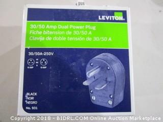 Leviton Amp Dual Power Plug