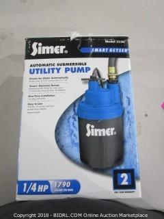 Simer Automatic Submersible Utility Pump
