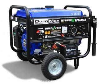 DuroMax XP4400EH, 3500 Running Watts/4400 Starting Watts, Dual Fuel Powered Portable Generator (Retail $499.00)