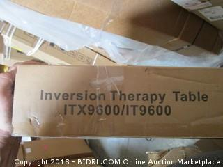 Inversion Therpay Table