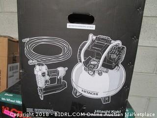 Brad Nailer & Compressor Combo Kit