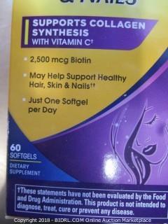 Hair, Skin Nails Vitamins