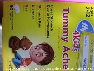 Kids Tummy Ache