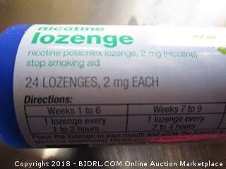 Nicotine Lozenge