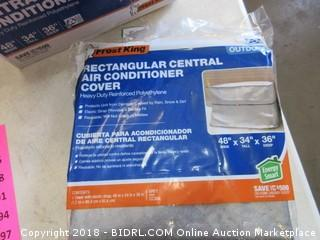Rectangular Central Air Conditioner Cover