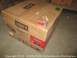 Weber 45030001 Spirit II E-310 Gas Grill LP Outdoor, Red (Retail $499.00)