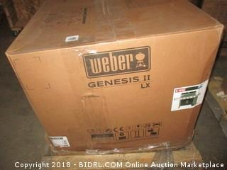 Weber 67014001 Genesis II LX E-440 Natural Gas Grill, Black (Retail $1,499.00)