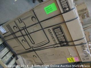 Weber 61004001 Genesis II LX S-340 Liquid Propane Grill, Stainless Steel (Retail $1,299.00)