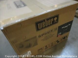Weber 44010001 Spirit II E-210 Gas Grill LP Outdoor, Black (Retail $399.00)
