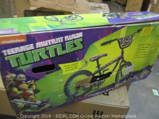 5df203a4b03 COM Online Auction Marketplace - Auction: Over-Sized Bicycles - 840 N. 10th  St Sacramento - June 14th ITEM: 16 inch Boys' Teenage Mutant Ninja Turtles  Bike