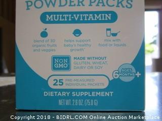 Multi Vitamin Packet