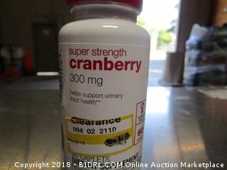 Super Strength Cranberry