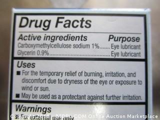Lubricant Eye Gel