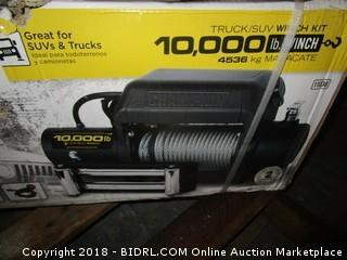 Champion 10,000-lb. Truck/SUV Winch Kit with Remote Control (Retail $380.00)