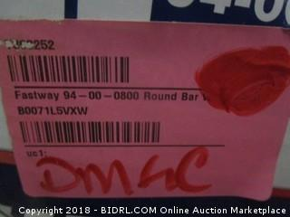 Fastway 94-00-0800 Round Bar Weight Distribution Hitch (Retail $267.00)