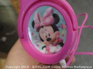 Kids  Minnie Headset? See Pictures