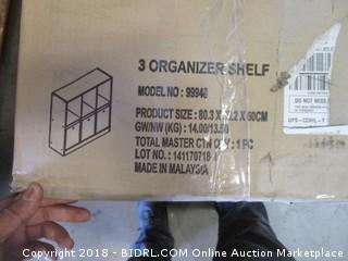 3 Organizer Shelf