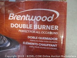 Brentwood Double Burner