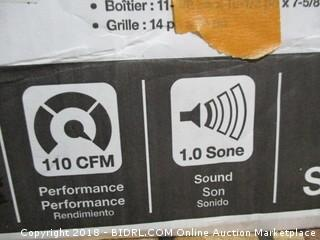Sensonic ventilation speaker fan