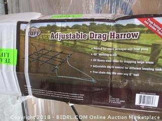 Field Tuff FTF-0424M ATV Adjustable Drag Harrow (Retail $159.00)