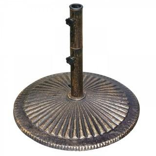 80-lb Classic Cast Iron Umbrella Base in Bronze