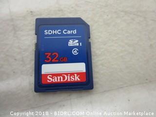 SDHC Card 32 GB San Disk