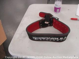Iron Bull Weight Belt