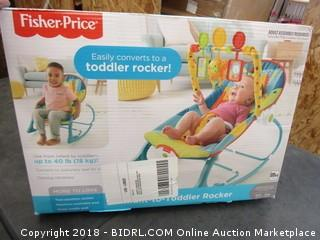Stationary Seat and Toddler Rocker