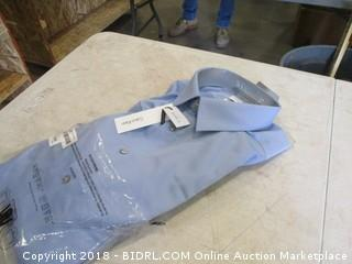 Calvin Klein Slim Fit Button UP Shirt Size 17 32/33