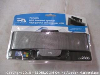 Portable USB Powered Speaker