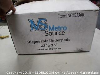 Disposable Blue Underpads