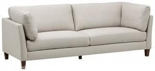 "Rivet Midtown Removable Cushion Modern Sofa, 92"" W, Cream (Retail $799.00)"