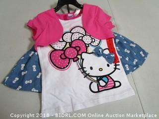 Hello Kitty Outfit size 5
